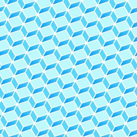 rectangle: Blue Rectangle Pattern vector illustration