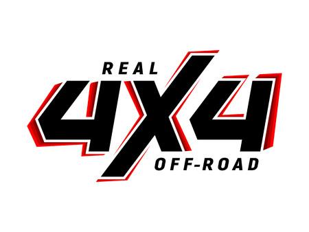 4x4 off-road emblem suv logo
