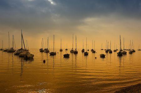 Golden lake photo