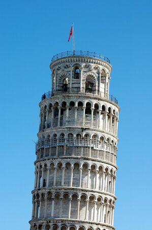 The leaning tower of Pisa photo