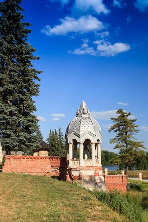 baron: Kyritz. Ryazan region. Manor estate baron S.P.Derviz.