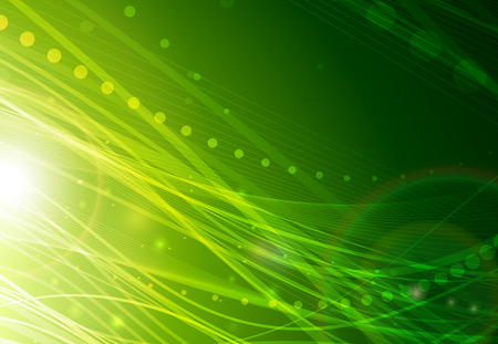 Green abstraction  イラスト・ベクター素材
