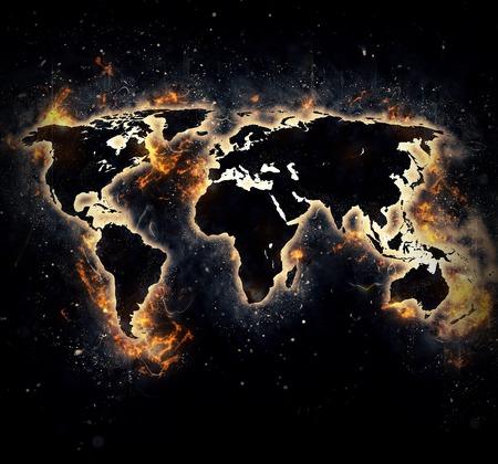 end of world: Burned world