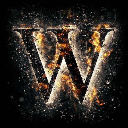 letter brand W