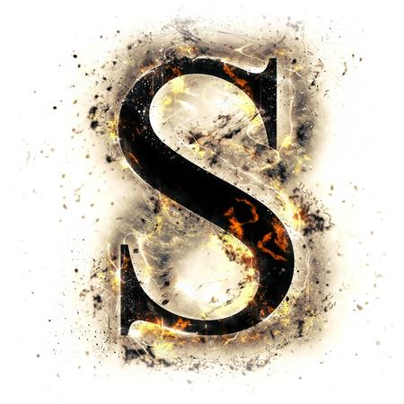 화재 편지 S