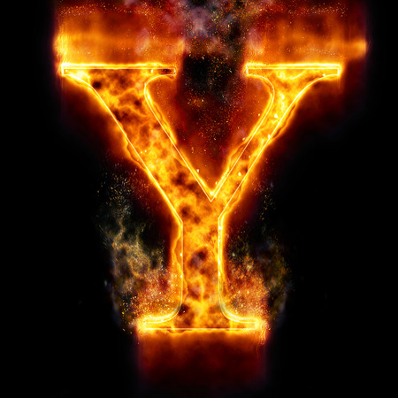 Lightning letter y stock photo picture and royalty free image fire letter y photo altavistaventures Choice Image