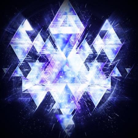 Prism background 写真素材