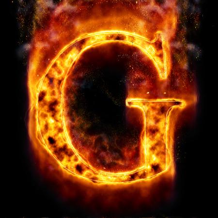 Fire letter G