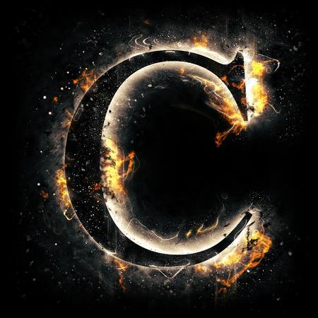 letter brand C