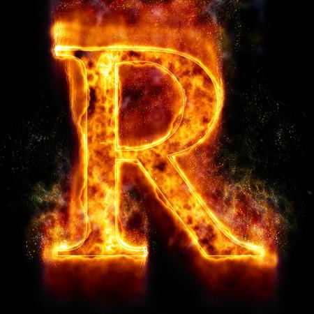 letter brand R