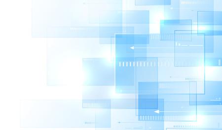 Blau modernen Hintergrund Standard-Bild - 45320763
