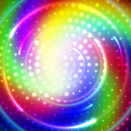 iridescent: Colorfull phantasmagoria Illustration