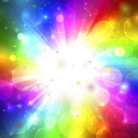 Colorfull phantasmagoria  イラスト・ベクター素材
