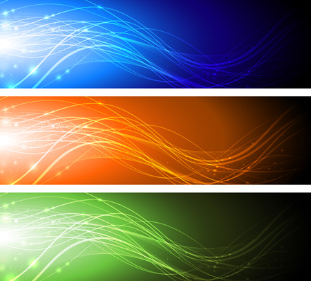Abstract banners  Stockfoto - 45321594