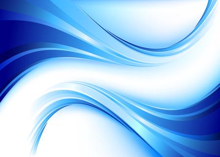 Blue flow  イラスト・ベクター素材