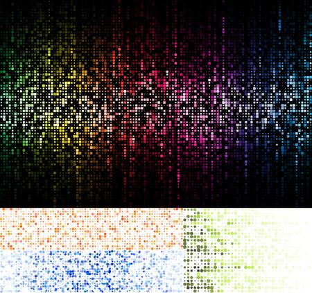 Mosaic backgrounds  イラスト・ベクター素材