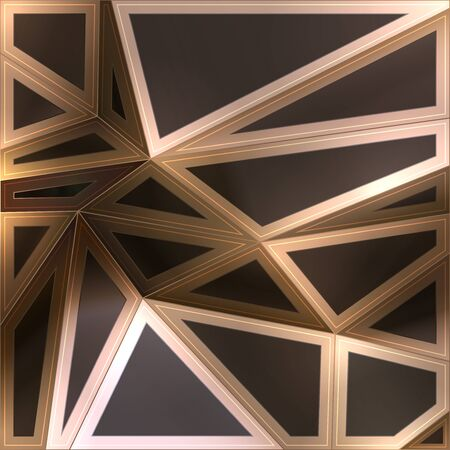 triangle pattern: Geometric abstract background Illustration