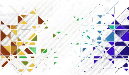 fondo geometrico: Geometric abstract background Vectores