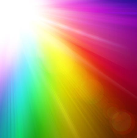 rainbow: Rainbow splash