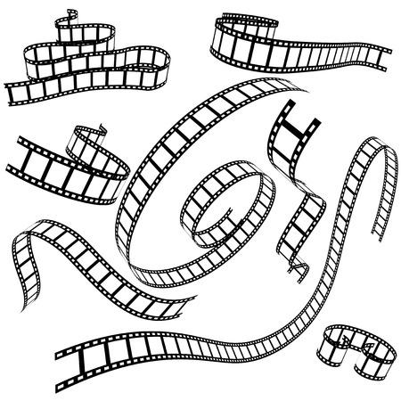 set van Vaus film strips