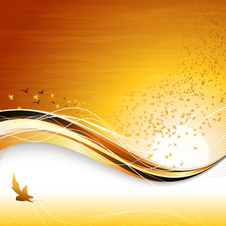 doleful: autumnal composition