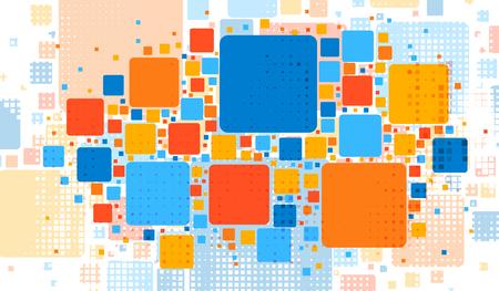 abstrakcja: Nowoczesna składu