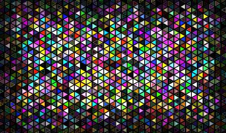 mosaic: Multicolor mosaic Illustration