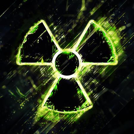 radiacion: Muestra de peligro de radiación Resumen