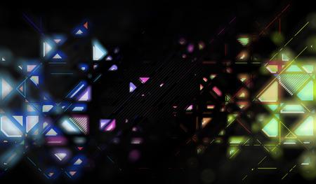 Dark abstraction Stockfoto