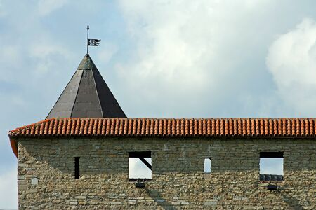 herman: Narva, a fragment of the Castle wall Herman, Estonia Editorial