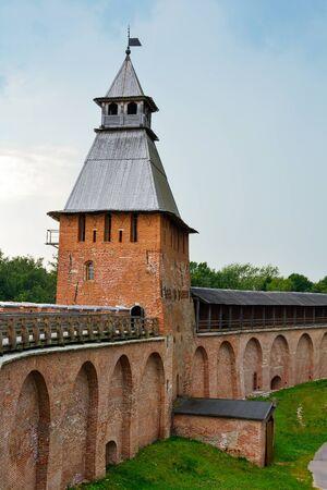 spasskaya: Veliky Novgorod, the Spasskaya tower of the citadel