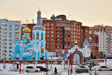 multifamily: Kemerovo, Orthodox Church of the icon of our lady Assuage my sorrows