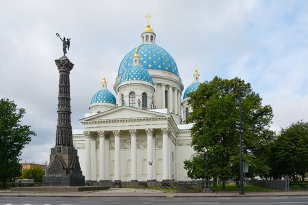 regiment: St. Petersburg, Trinity Izmailovsky Cathedral is the historic Cathedral Life guards Izmailovsky regiment