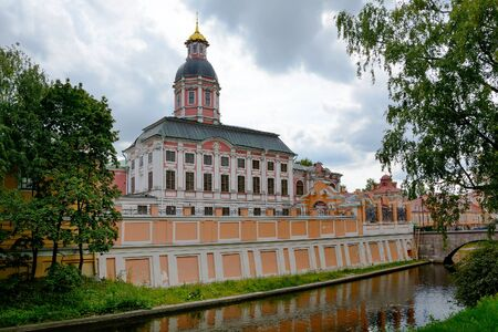 lavra: Alexander Nevsky Lavra- monastery in the center of St. Petersburg
