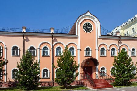 theological: The building of the Churchs Historical Museum in the Tomsk theological Seminary
