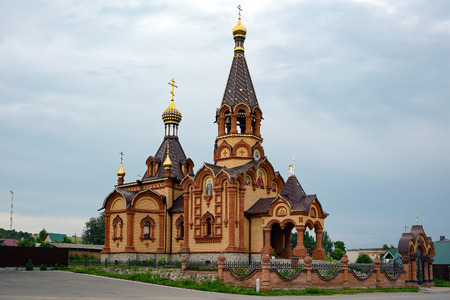 filmmaker: The Church of St. Catherine in the village of Srostki, Altai Krai. Srostki village is the birthplace of the Russian writer, actor and filmmaker Vasily Shukshin