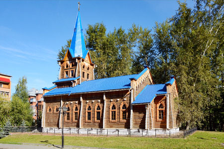 Tomsk, Lutheran Church of St. Mary in the Garden-Buff
