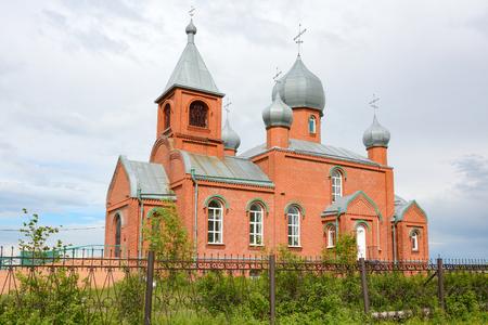 Orthodox Church of saints Cosmas and Damian in the village of Verkh-Chebula
