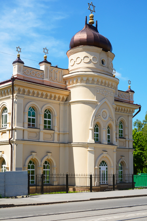 jewish star: Tomsk, the historic building of the Choral Synagogue