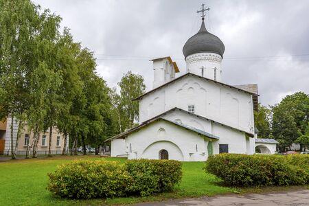 Pskov, Church of St. Nicholas with Usokhi, a popular tourist destination