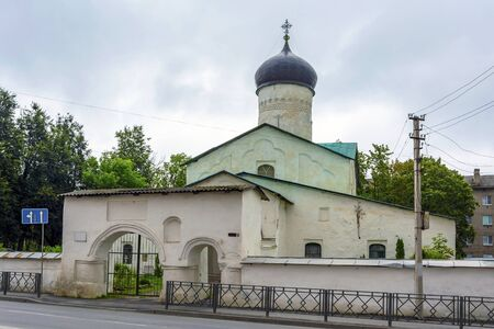 Pskov Orthodox Church of Cosmas and Damian in primoste, a popular tourist destination