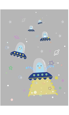 spaceship Vector