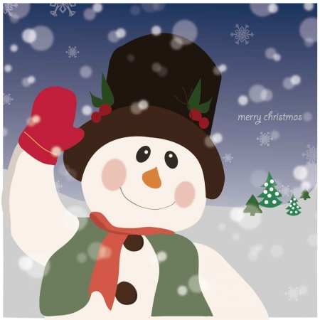 snowman Stock Vector - 15967165