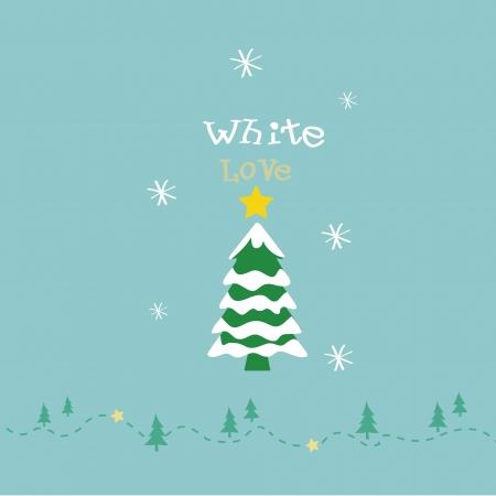 alight: white christmas