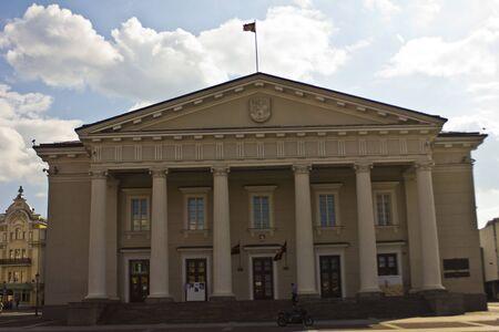 particolare: Municipio di Vilnius, particolare