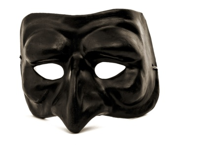 puffin: Black Italian Mask