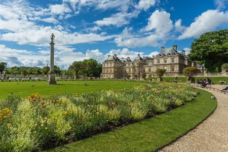 Luxembourg Garden Jardin du Luxembourg  in Paris, France 版權商用圖片 - 28576867