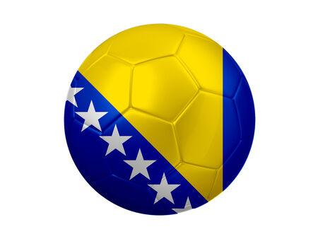 bosnia and herzegovina: Bosnia and Herzegovina Football Flag