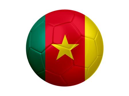 cameroon: Cameroon Football Flag