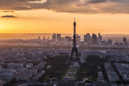 Tour Eiffel à Paris, France Banque d'images